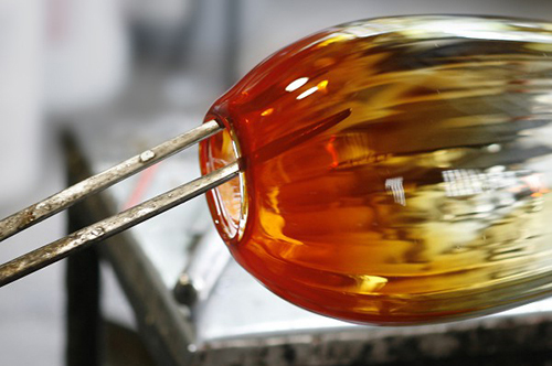 Blowing glass (Third Degree Glass)