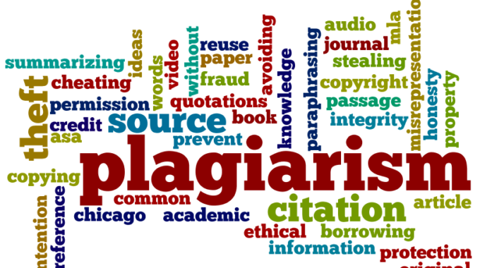 Plagiarism: Just Don't Do It!