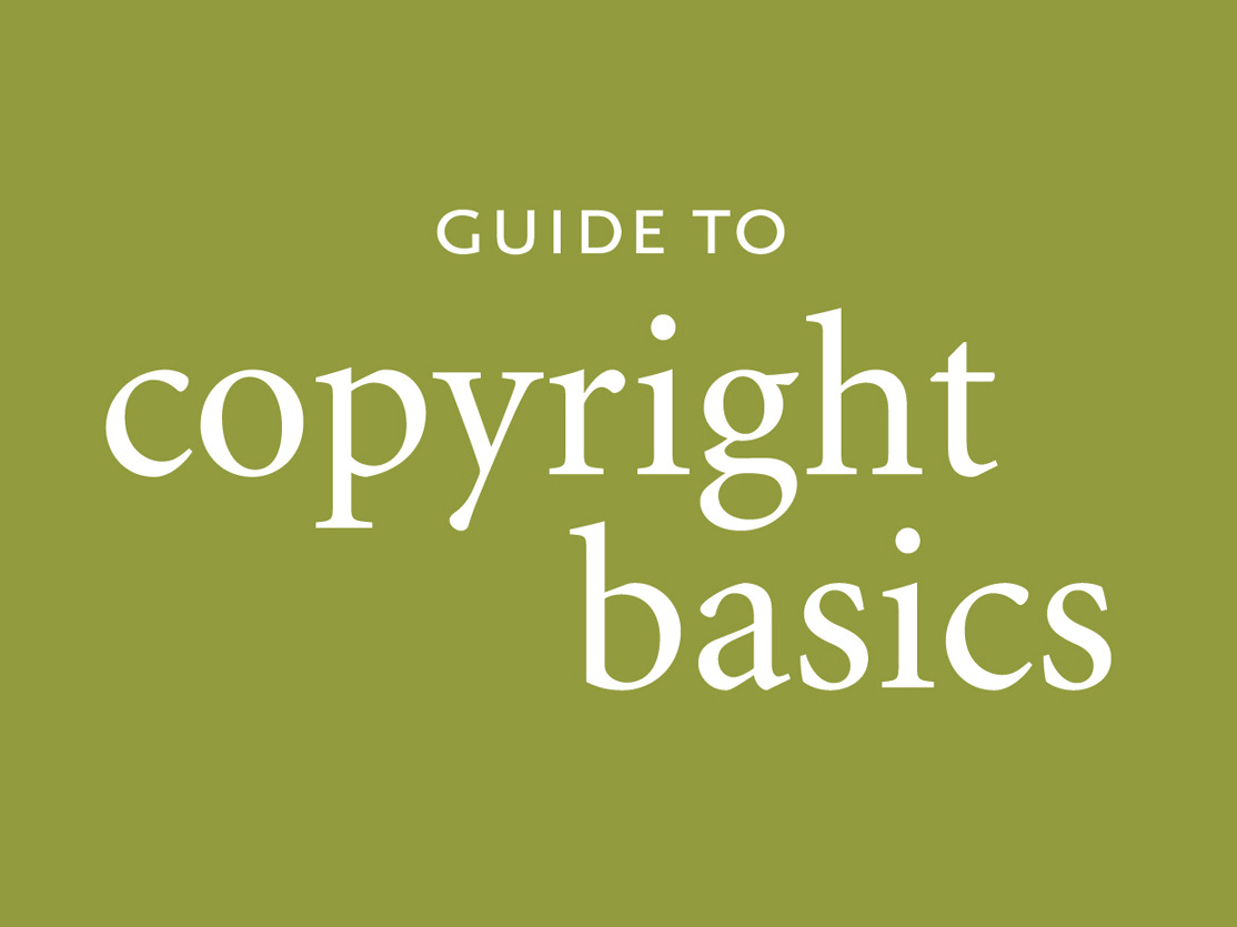 VLAA Guide to Copyright Basics, booklet cover