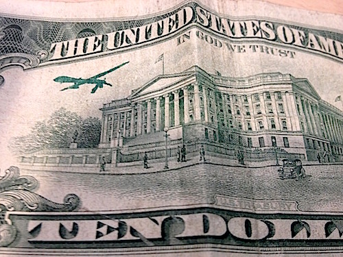 IN ____ WE TRUST: Art, Currency And Drones