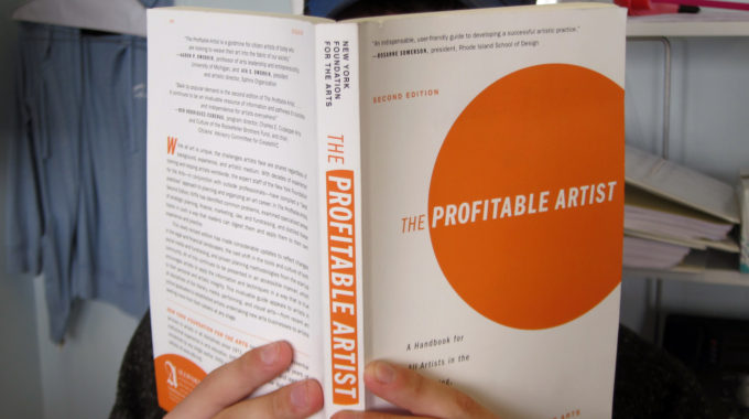 The Profitable Artist, A Book