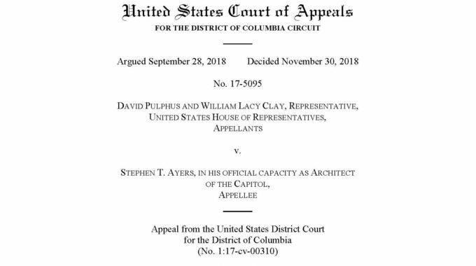 Appeals Court Dismisses Pulphus Lawsuit