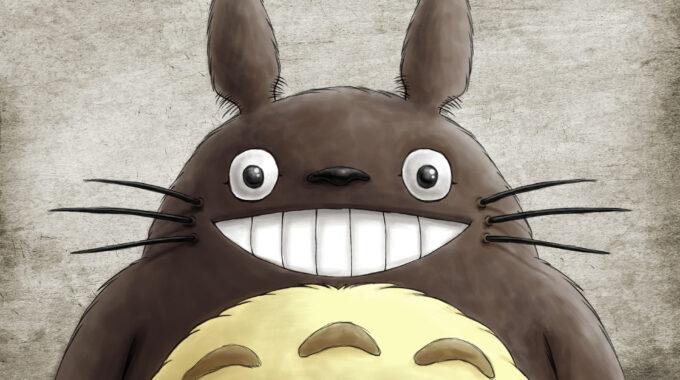 Fanart Totoro 2000px