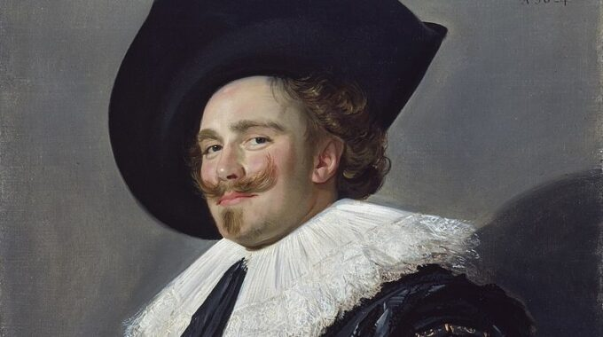 Laughing Cavalier By Frans Hal (1624)